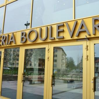 galleria boulevard skyltar skyltkoncept