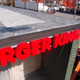 skyltar skyltkoncept burgerking