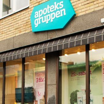 apoteksgruppen skylt